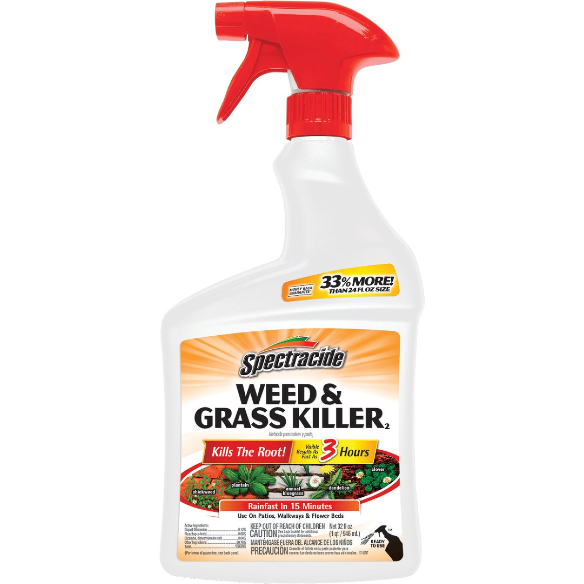RTU WEED & GRASS KILLER - HG86019 by United Industries Co