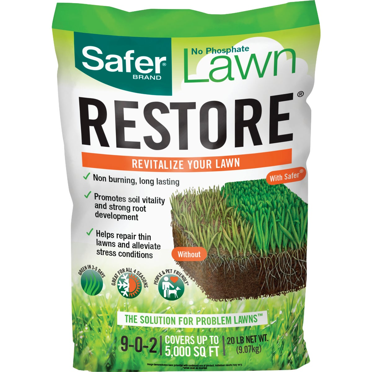 25LB LAWN RESTORE FERT - 9333 by Woodstream Corp