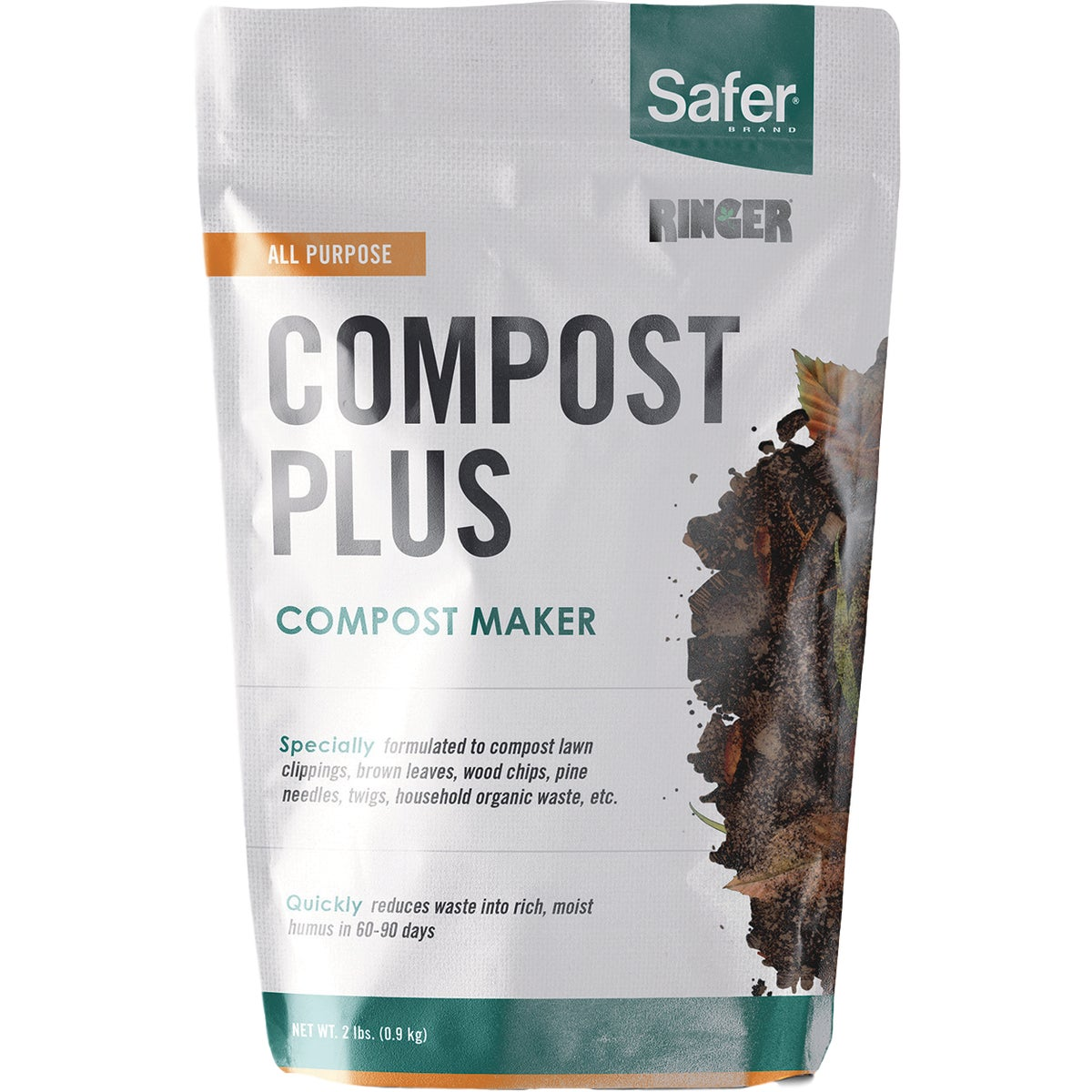 2LB COMPOST PLUS - 3050 by Woodstream Corp
