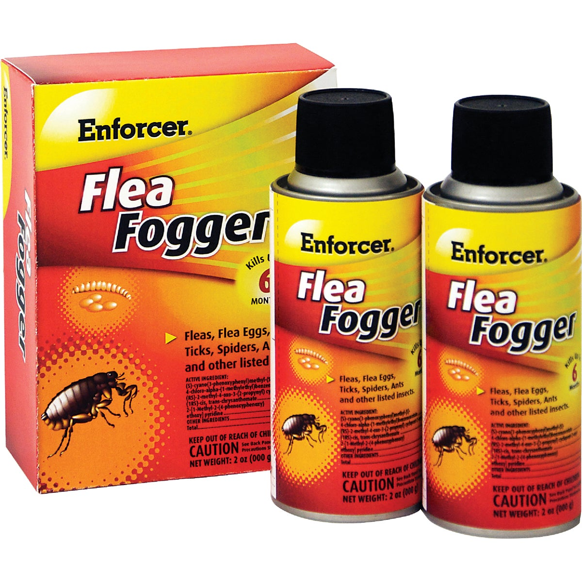 2PK FLEA FOGGER - EFF2 by Zep Enforcer Inc