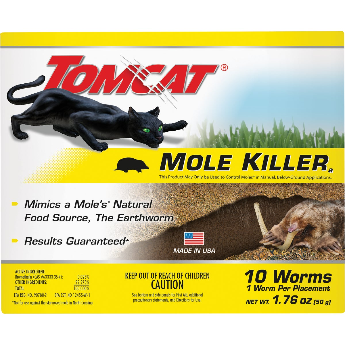 10PK MOLE KILLER - BL39966 by Motomco Ltd