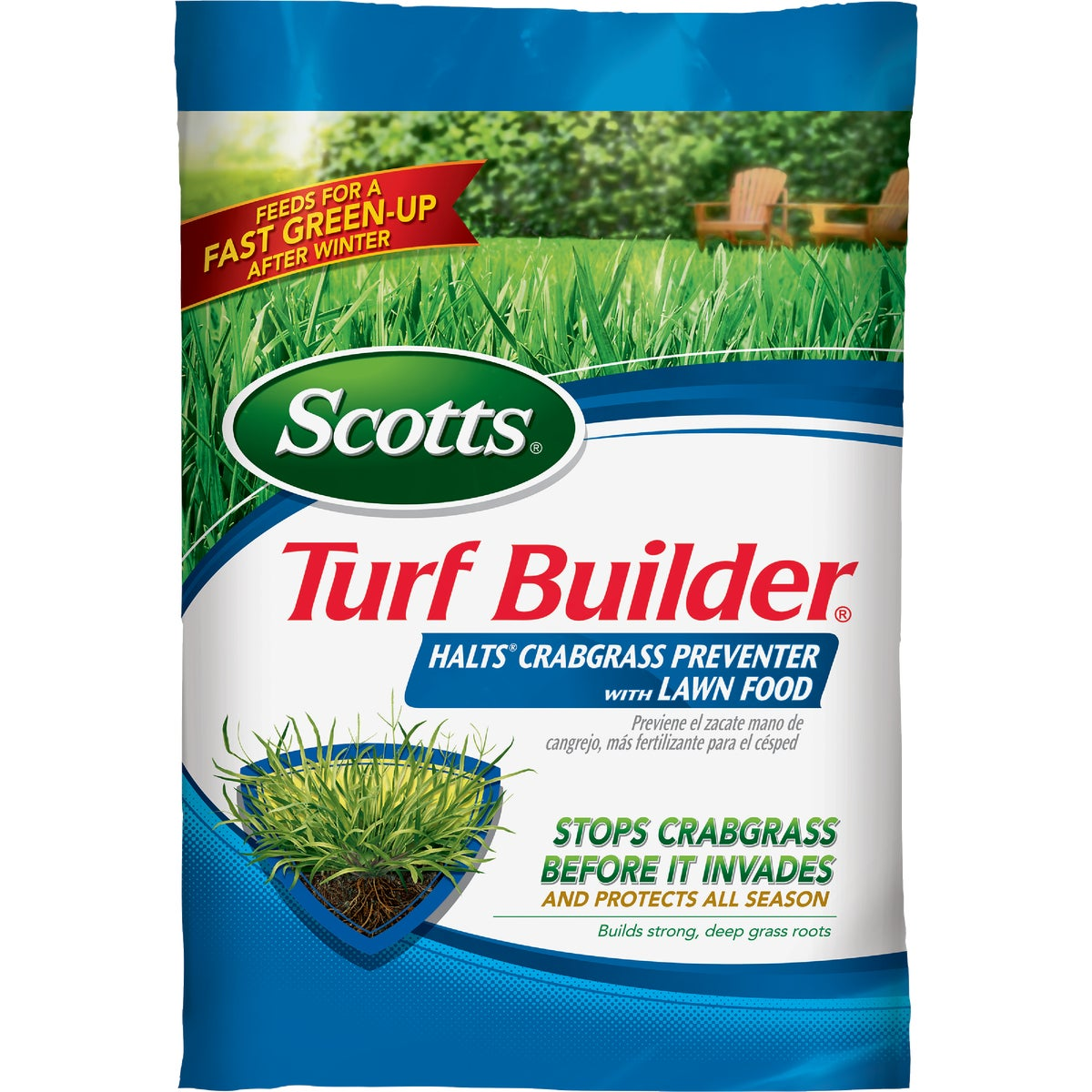 5M TURF BUILDER + HALTS - 3806 by Scotts Company