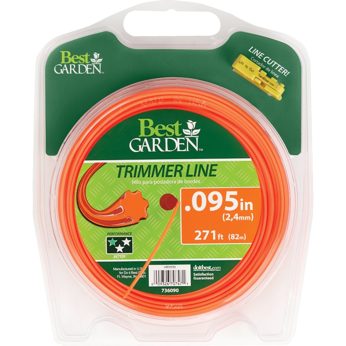 .095 271' TRIMMER LINE - 16256 by Shakespeare Mono
