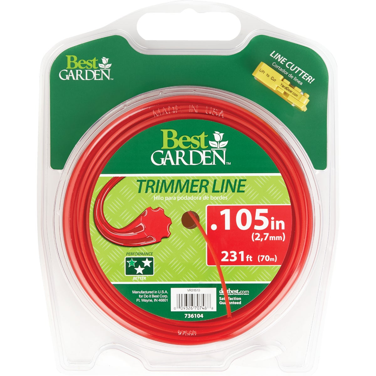 .105 231' TRIMMER LINE - 16257 by Shakespeare Mono