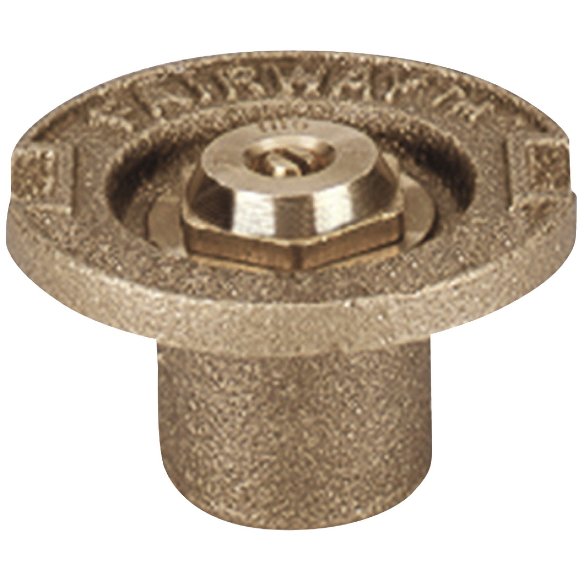 QT BRASS FLUSH SPRINKLER - 17SQ/11003 by Champion Arrowhead
