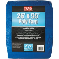 Do it Best GS Tarps 26X55 BLUE MED DUTY TARP 736236