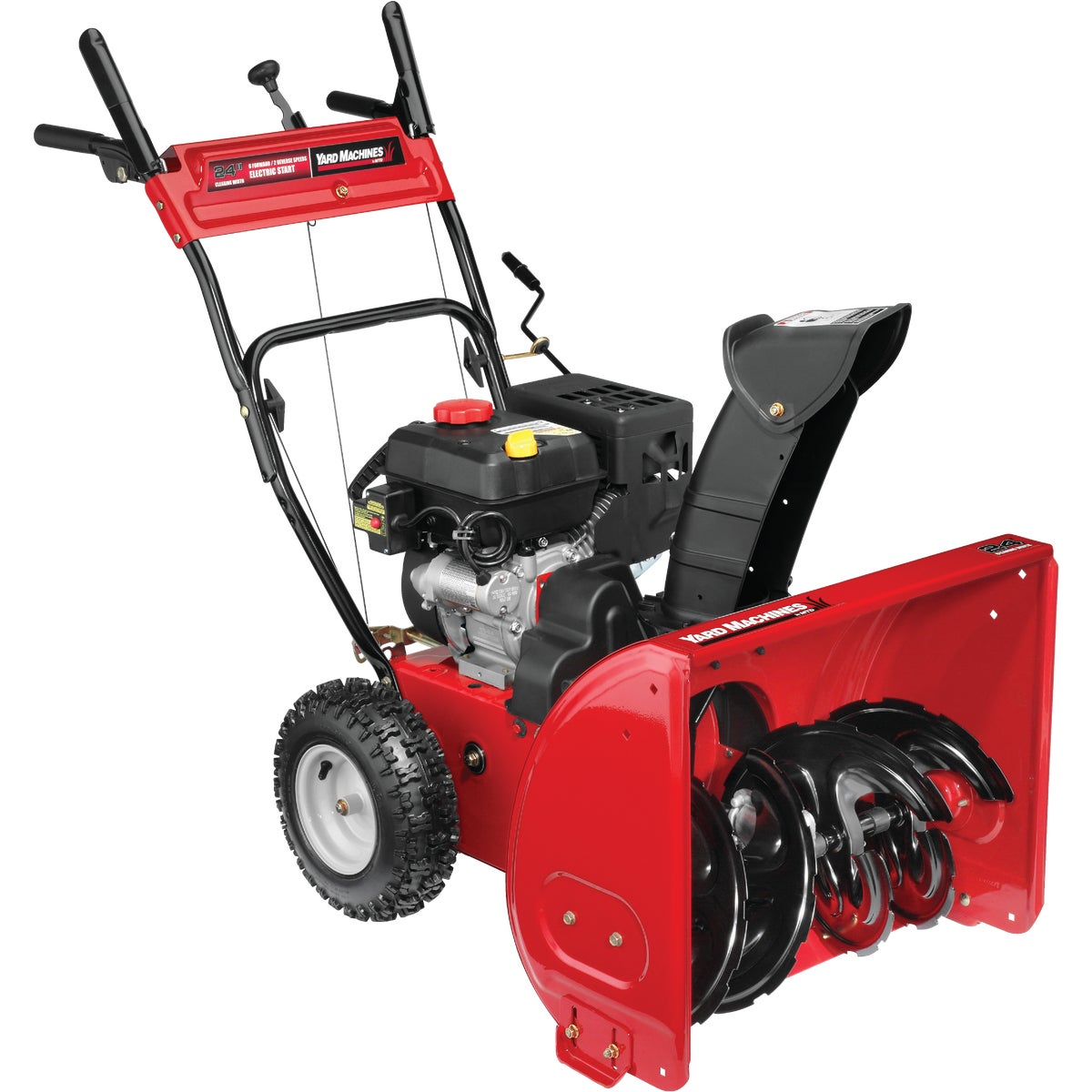 Yard Machine 24 In. 2-Stage Gas Snow Blower, 31AS63EE700