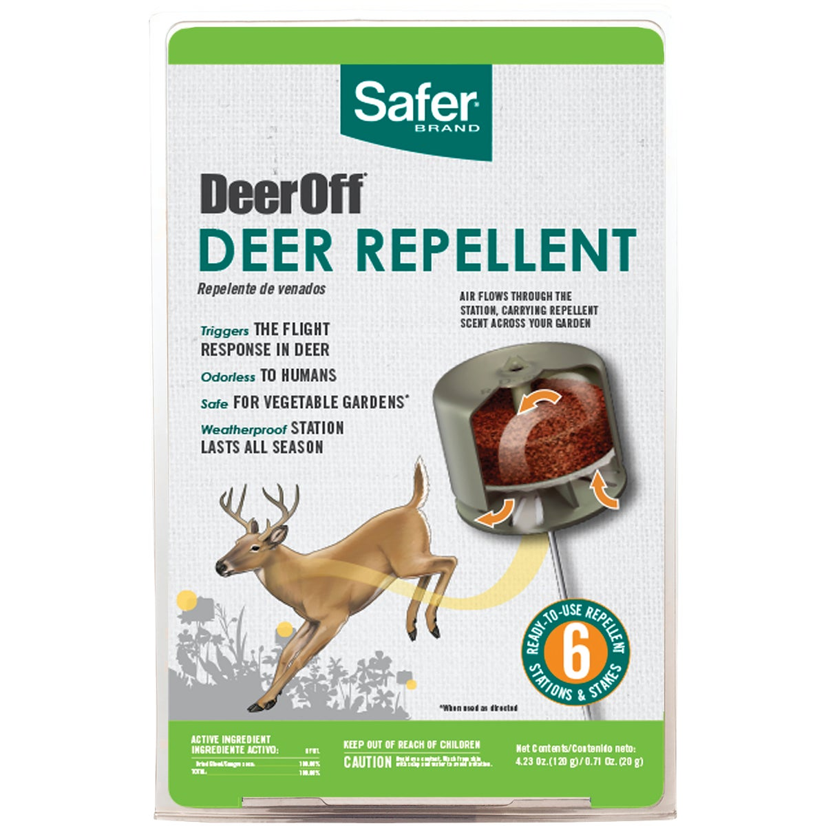 DEER REPELLENT - S5600 by Woodstream Corp