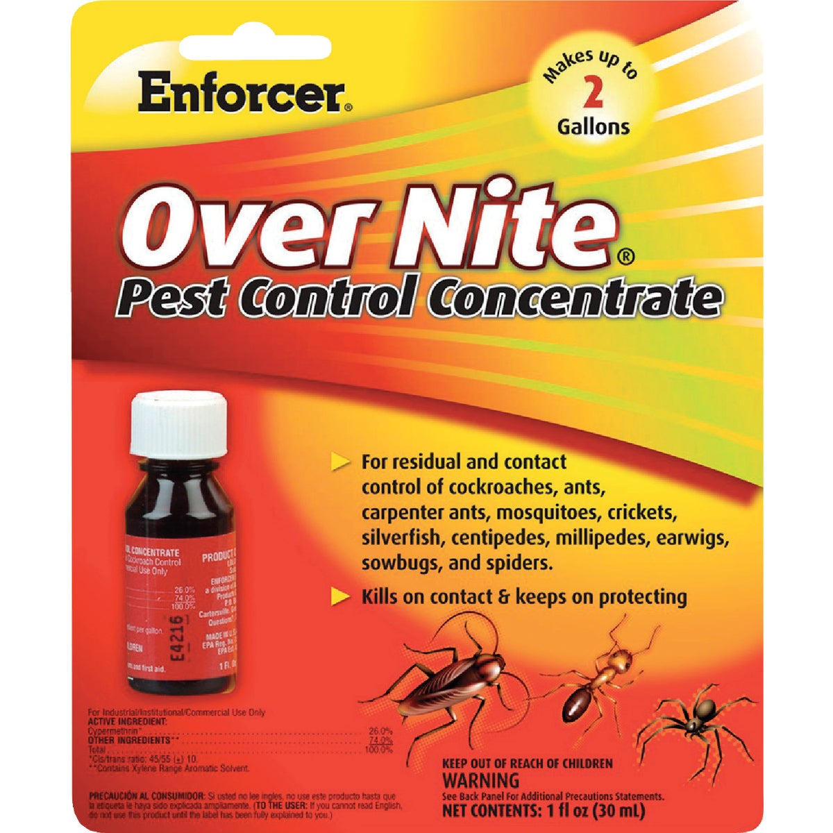 1OZ INSECT PEST CONTROL - ONC1 by Zep Enforcer Inc