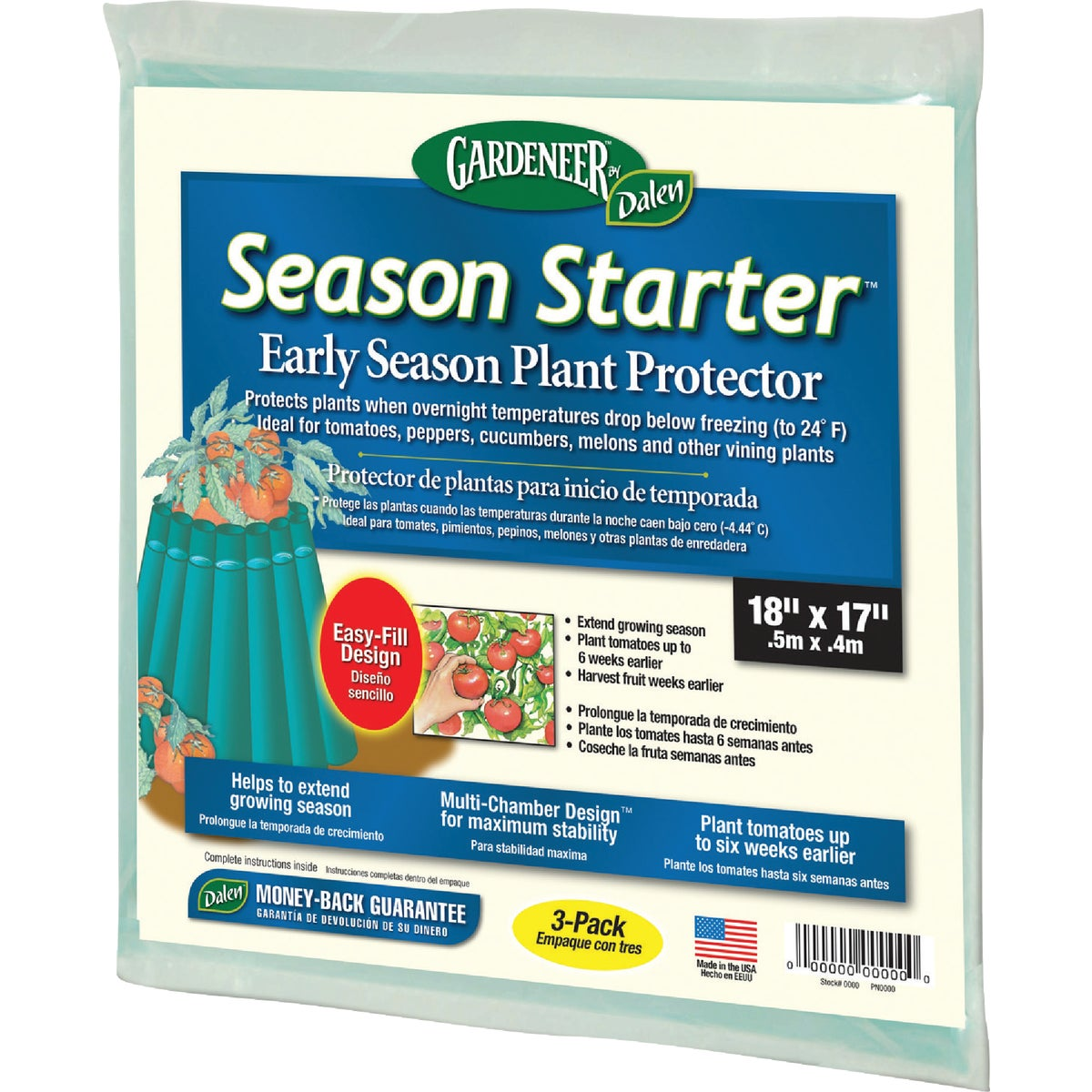 3PK PLANT PROTECTOR - PIN-9 by Dalen Prod Inc