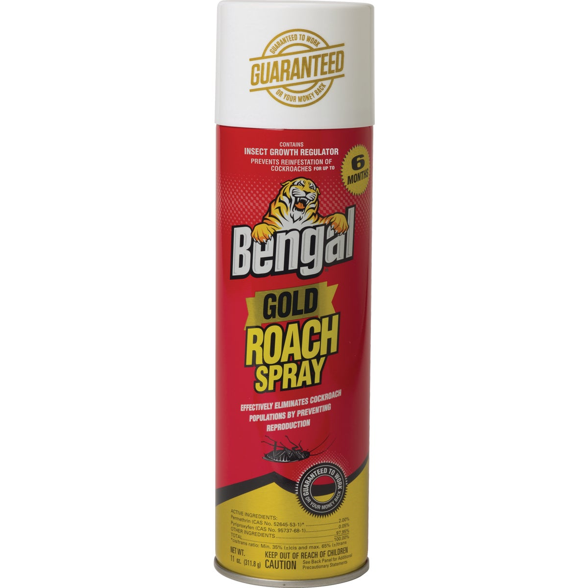 11OZ GOLD ROACH SPRAY - 92464 by Bengal Products Inc