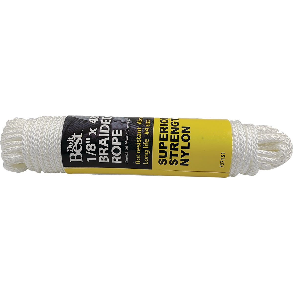 "1/8""X48' NYL BRAID ROPE - 737151 by Do it Best"