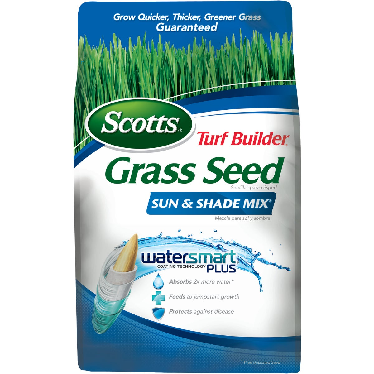 The Scotts Co. 7LB SUN/SHADE GRASS SEED 18121