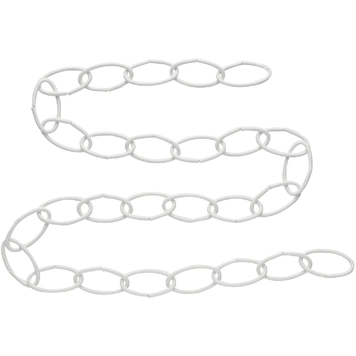 "36"" WHT EXTENSION CHAIN - N275016 by National Mfg Co"