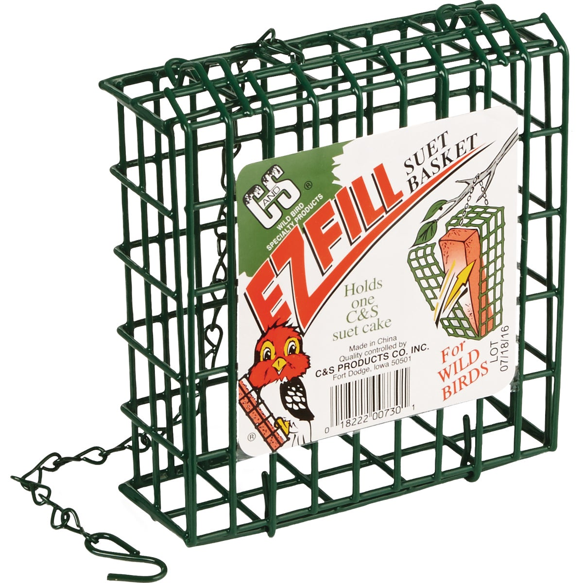 E-Z SUET CAKE HOLDER - 730 by C & S Products Inc