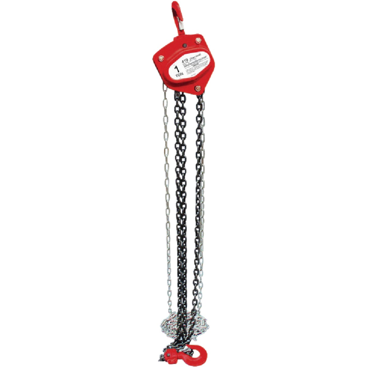 1 TON CHAIN BLOCK LIFT - 48510 by Pull R Holdings
