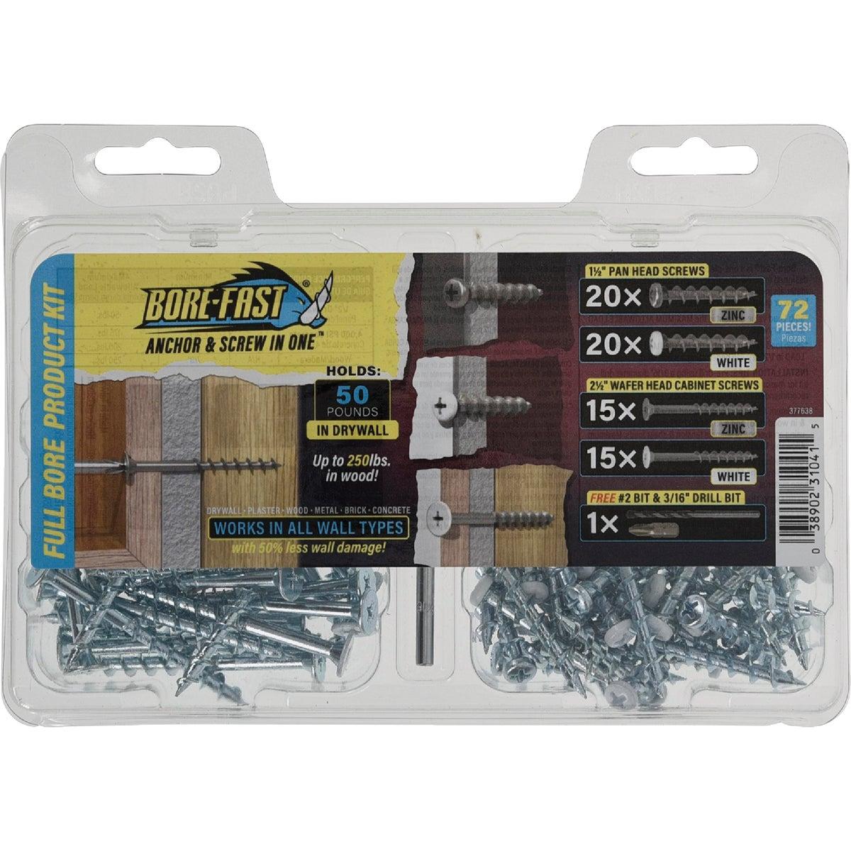 WALLDOG DRILL TOGGLE KIT - 42071 by Hillman Fastener