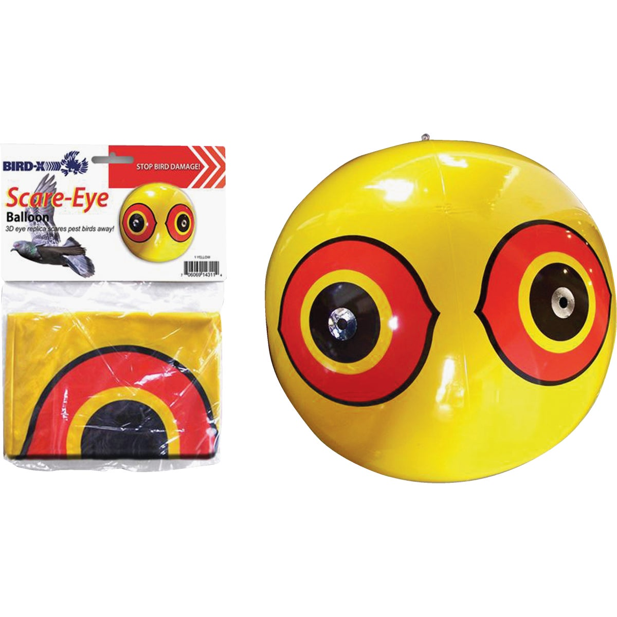 SCARE EYE BALLOON - SE-Y by Bird X Inc