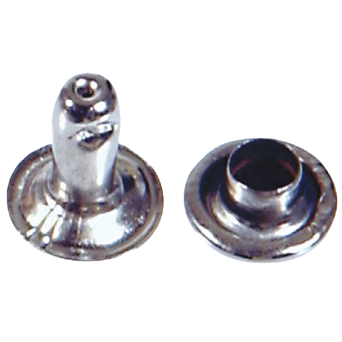 SML NICKEL PLATED RIVET - 8003 by Hillman Fastener