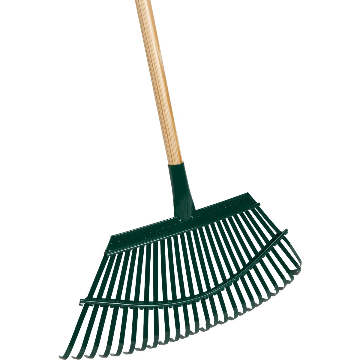 "19"" WOOD HDL LAWN RAKE - 1W by Flexrake Corp"