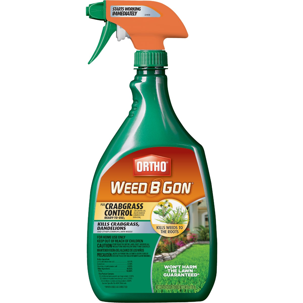 24OZ MAX PLUS WEED B GON - 0421070 by Scotts Company