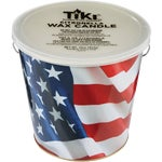 Americana Flag Citronella Bucket