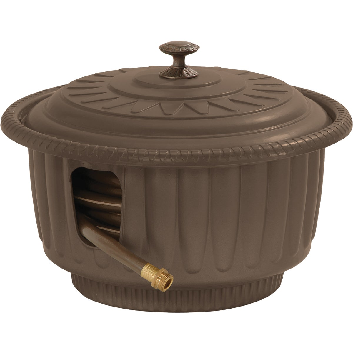 TAUPE HOSE REEL POT