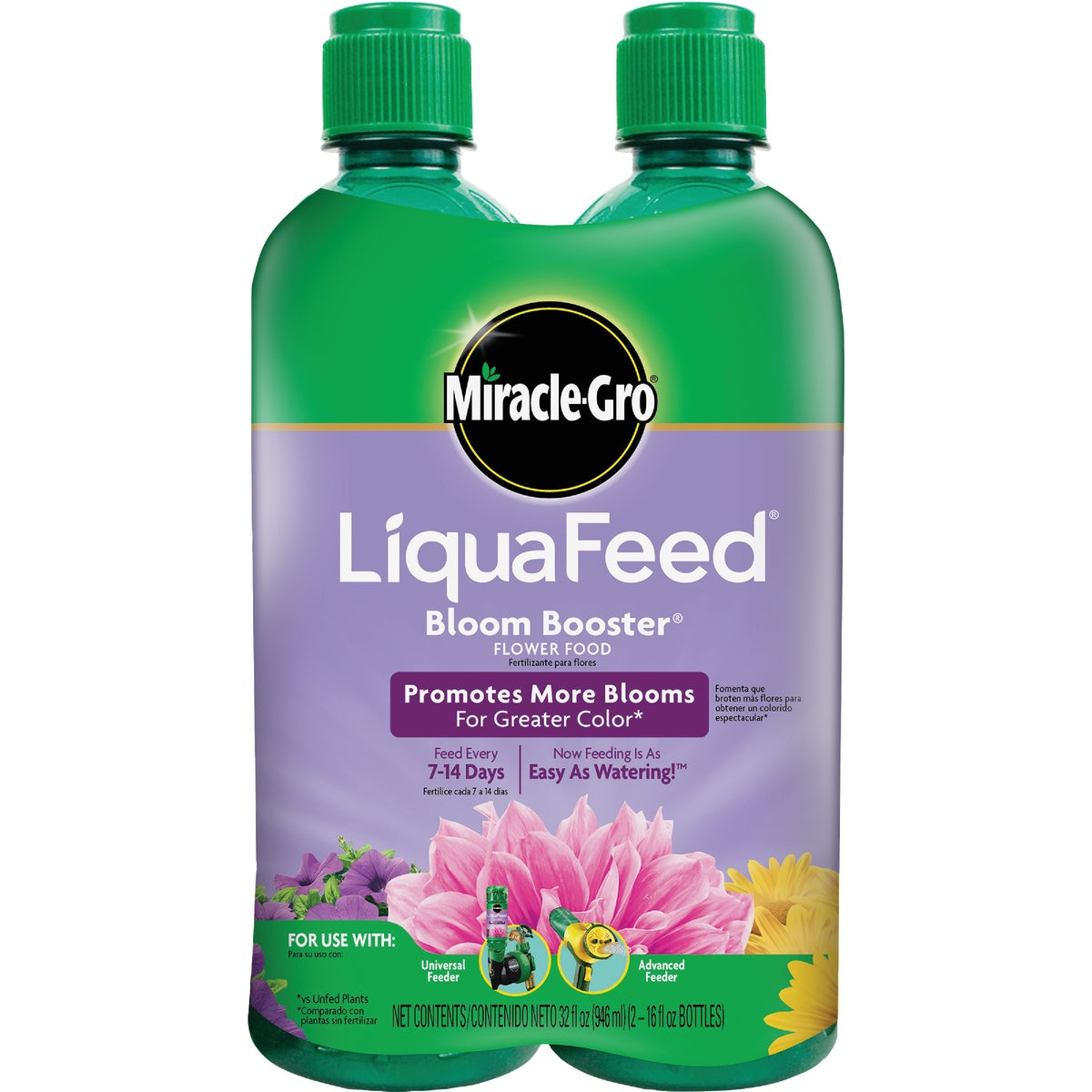 2PK LIQUAFEED BLOOM FOOD - 1004041 by Scotts Company