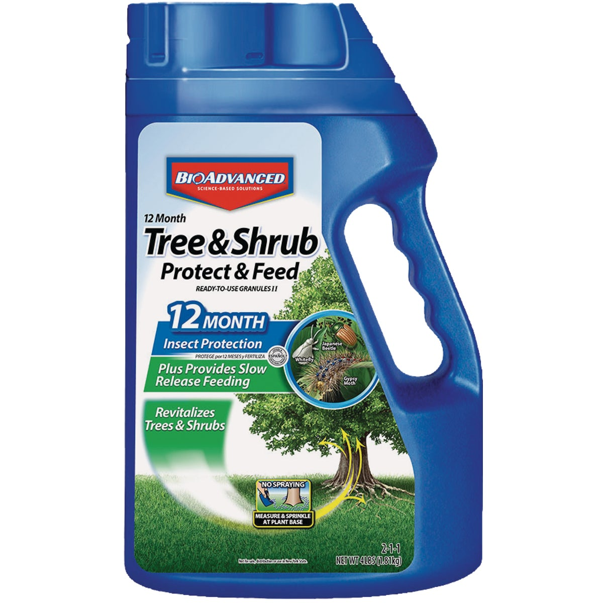 3# TREE/SHRUB GRANULES - 701700B by Bayer Advanced Llc