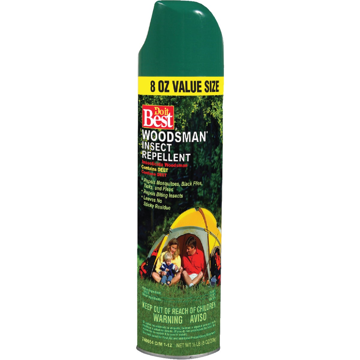 8OZ 25% INSECT REPELLENT - 740654 by Maid Brands Inc