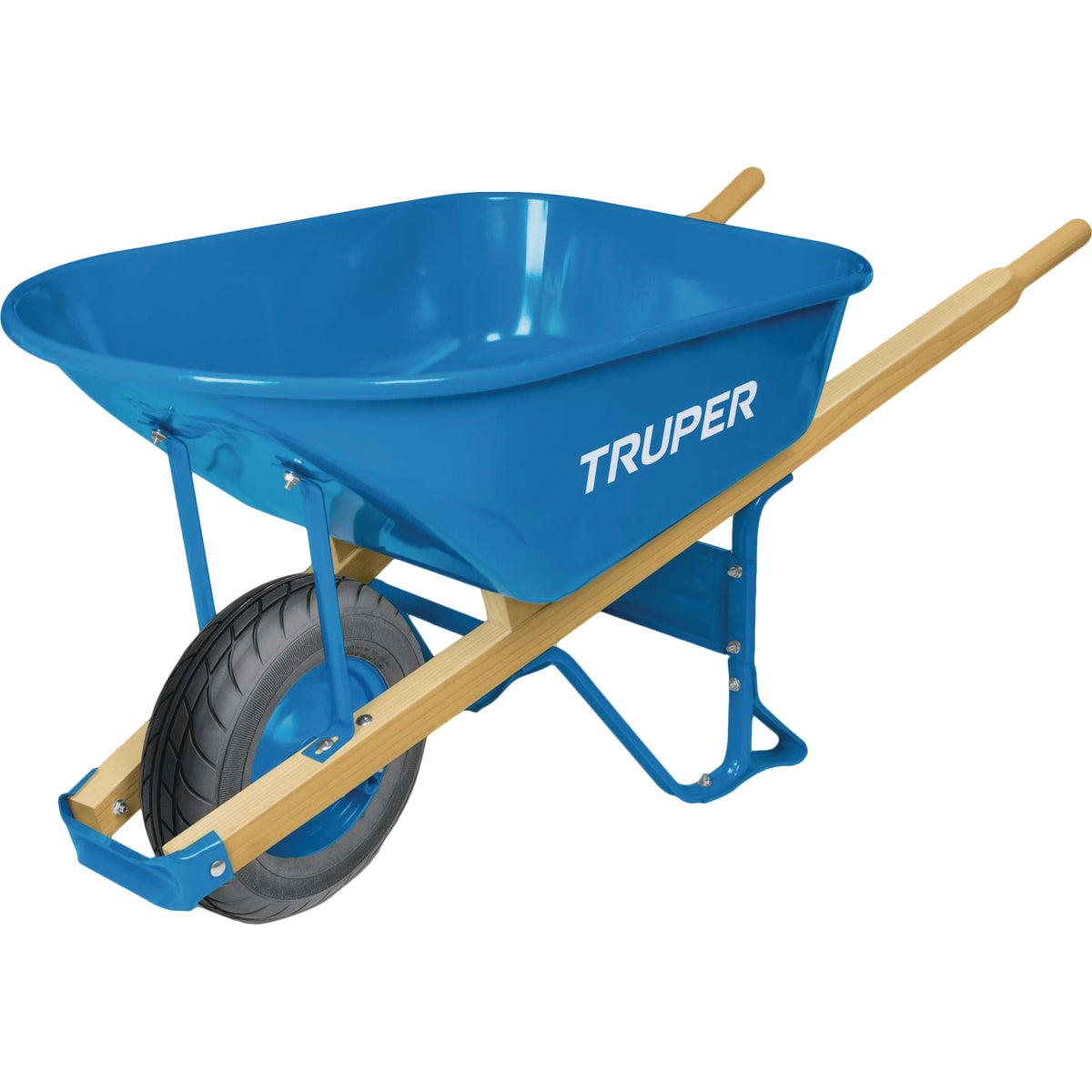 6CU FT STEEL WHEELBARROW - PS-6F by Truper Herramientas