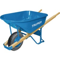 Truper Tru Pro Contractor Steel Wheelbarrow, PS-6F