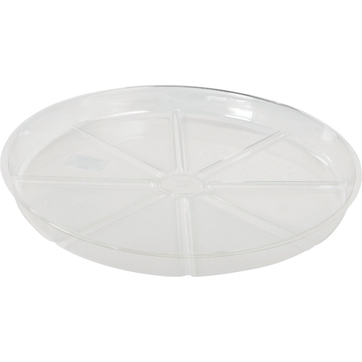 "14"" CLEAR VINYL SAUCER - VS14 by Woodstream Corp"