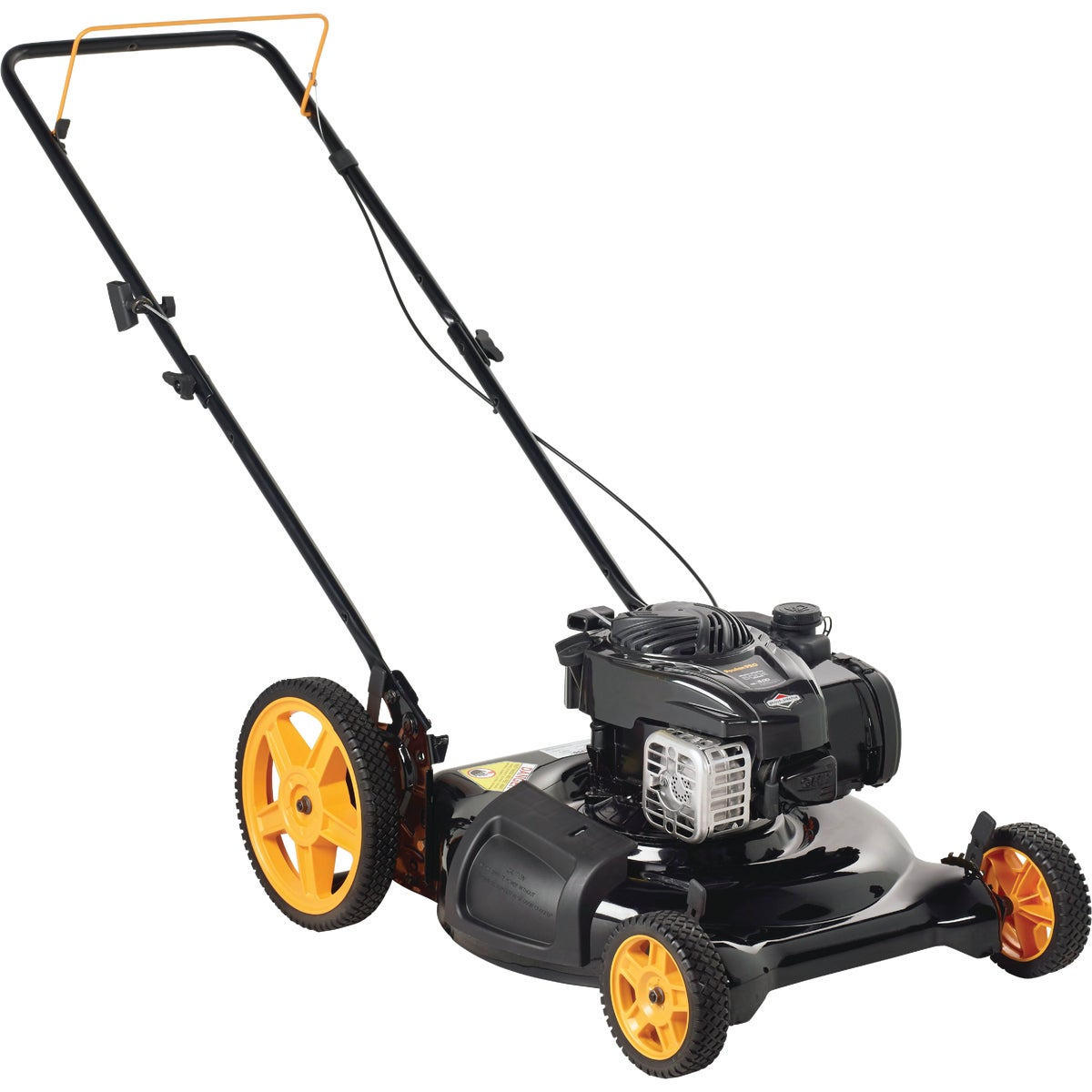 "21"" HI-WHEEL PUSH MOWER"