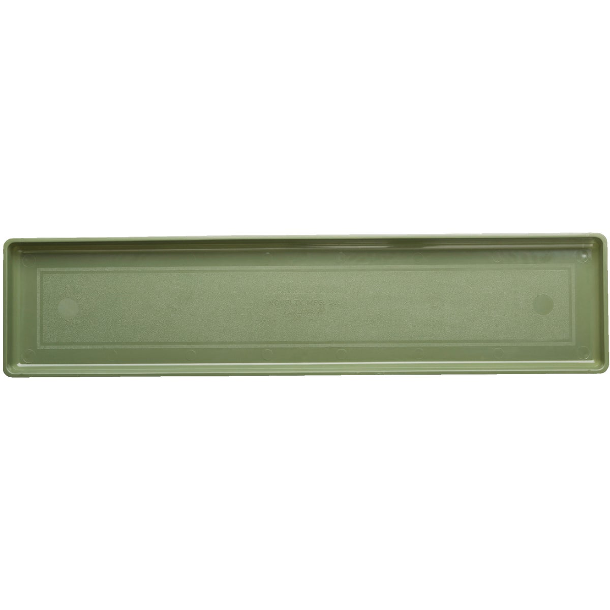 "24"" FLOWERBOX TRAY SAGE - 10240 by Novelty Mfg Co"