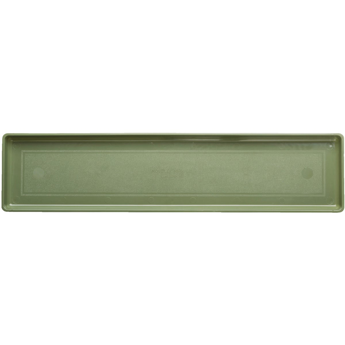 PLASTIC FLOWER BOX TRAY - 1030 by Novelty Mfg Co