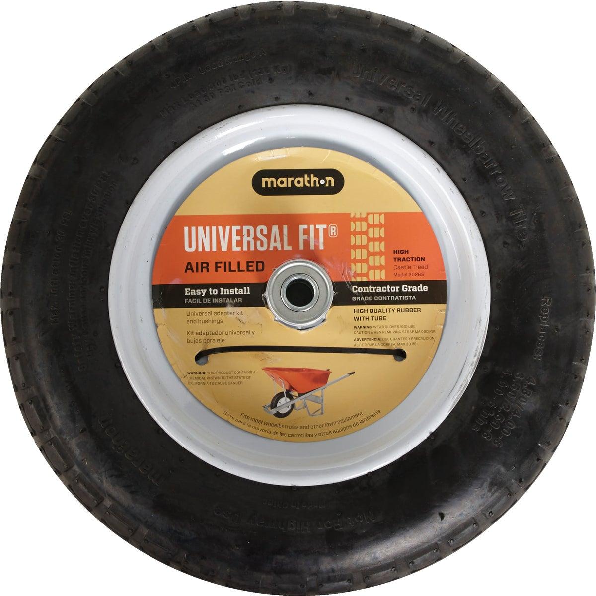 Marathon Universal Pneumatic Wheelbarrow Wheel, 20265