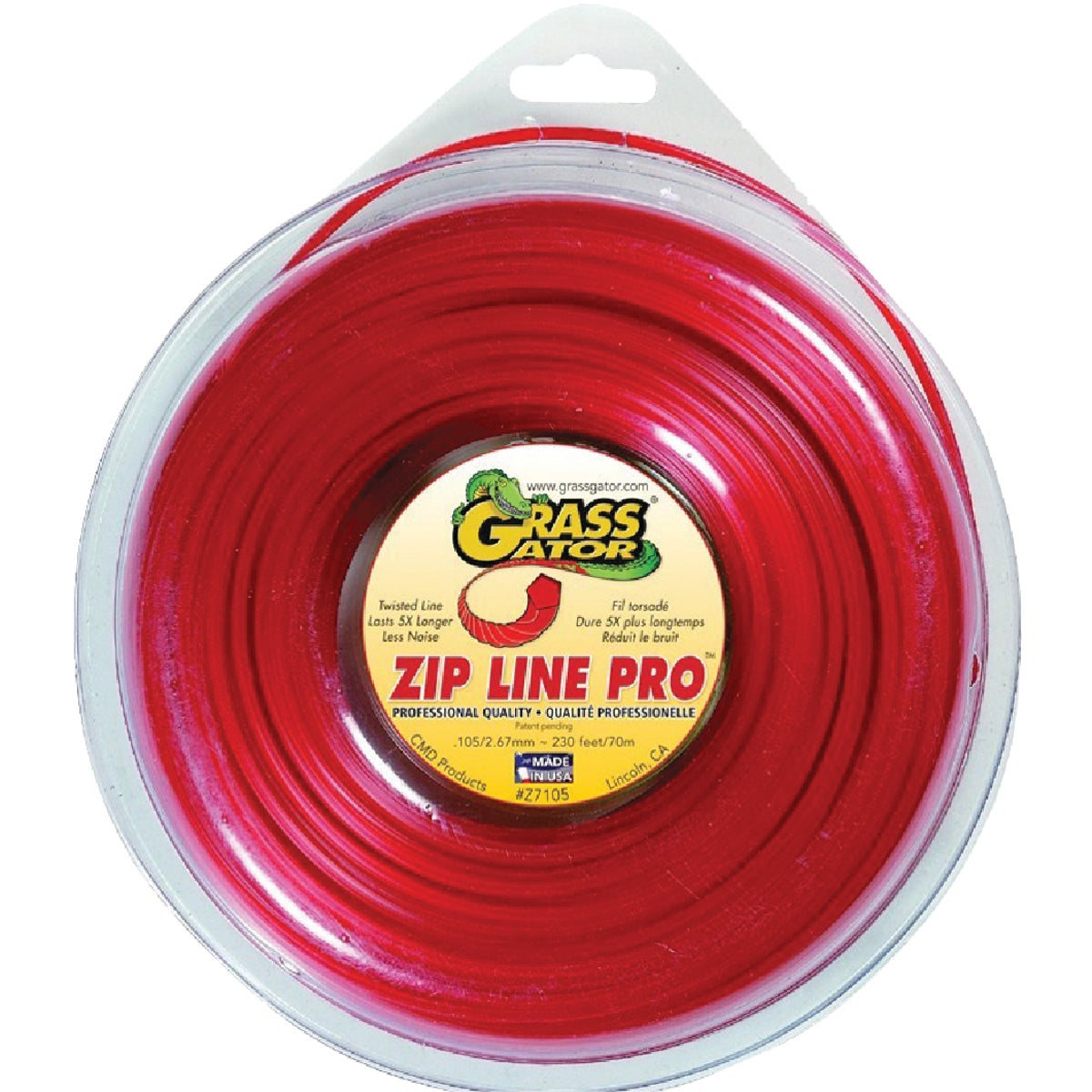.105 REPL TRIMMER LINE - Z7105L by C M D Products