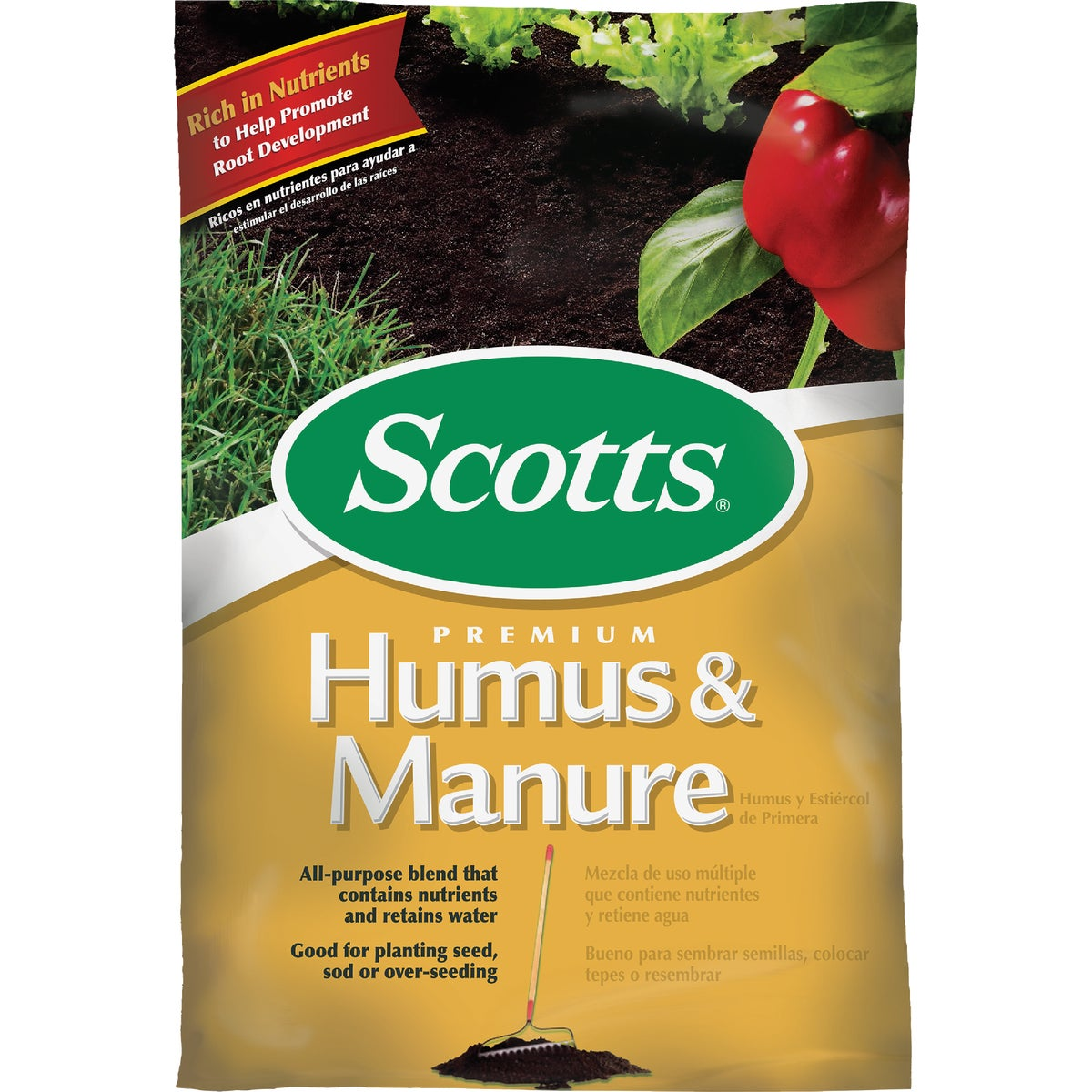 .75CF HUMAS & MANURE - 71530750 by Scotts Organics
