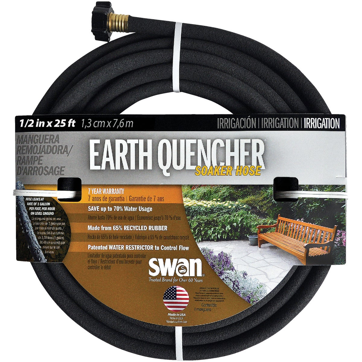 "1/2""X25' SOAKER HOSE - DBUER12025 by Colorite  Swan"