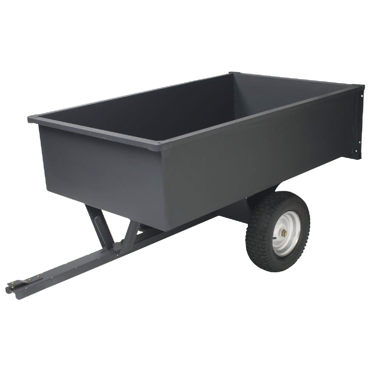 17CU FT DUMP CART - LC1700GY by Precision Prod Inc