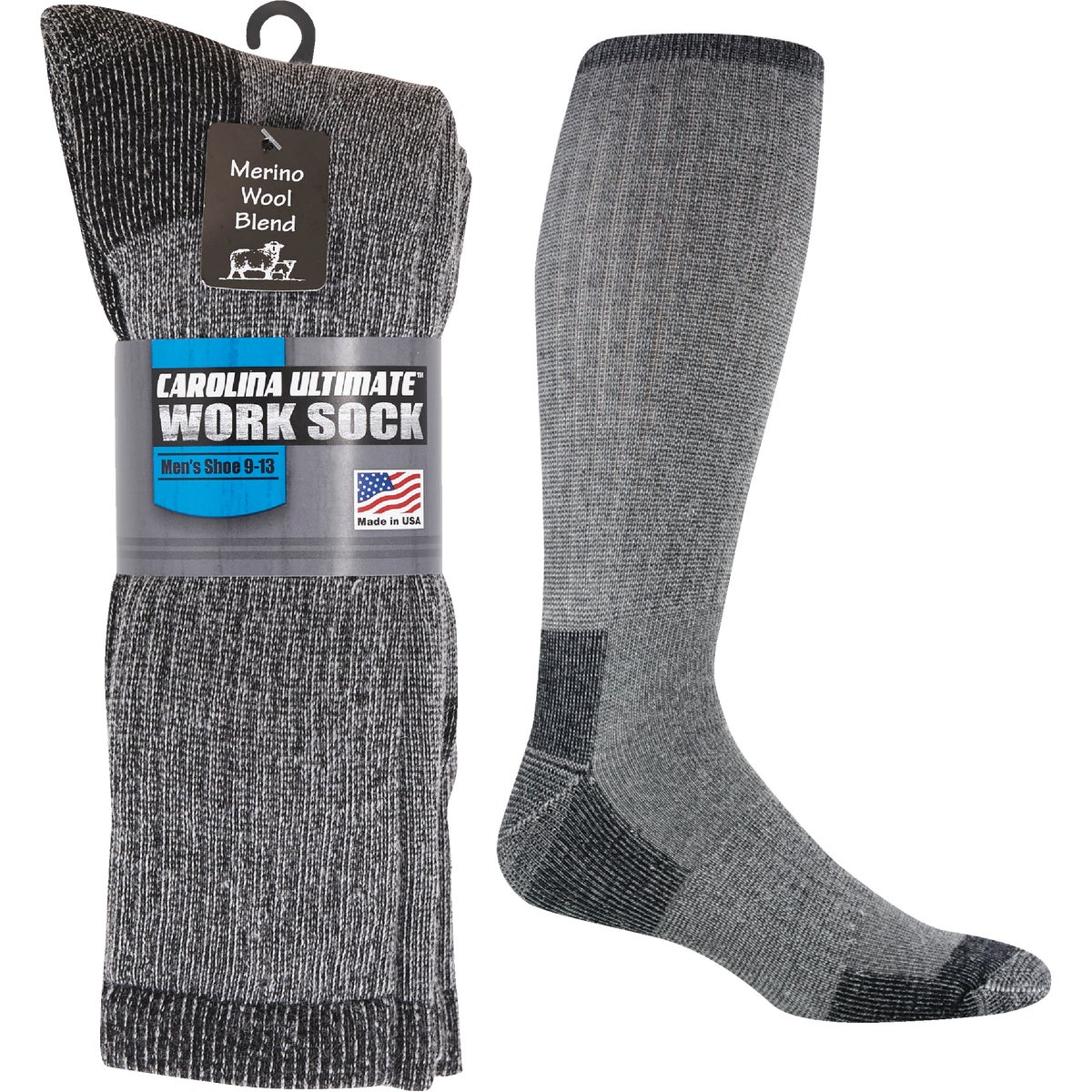 LG 40BELOW BLACK SOCK - F2230-052LG by Wigwam Mills, Inc