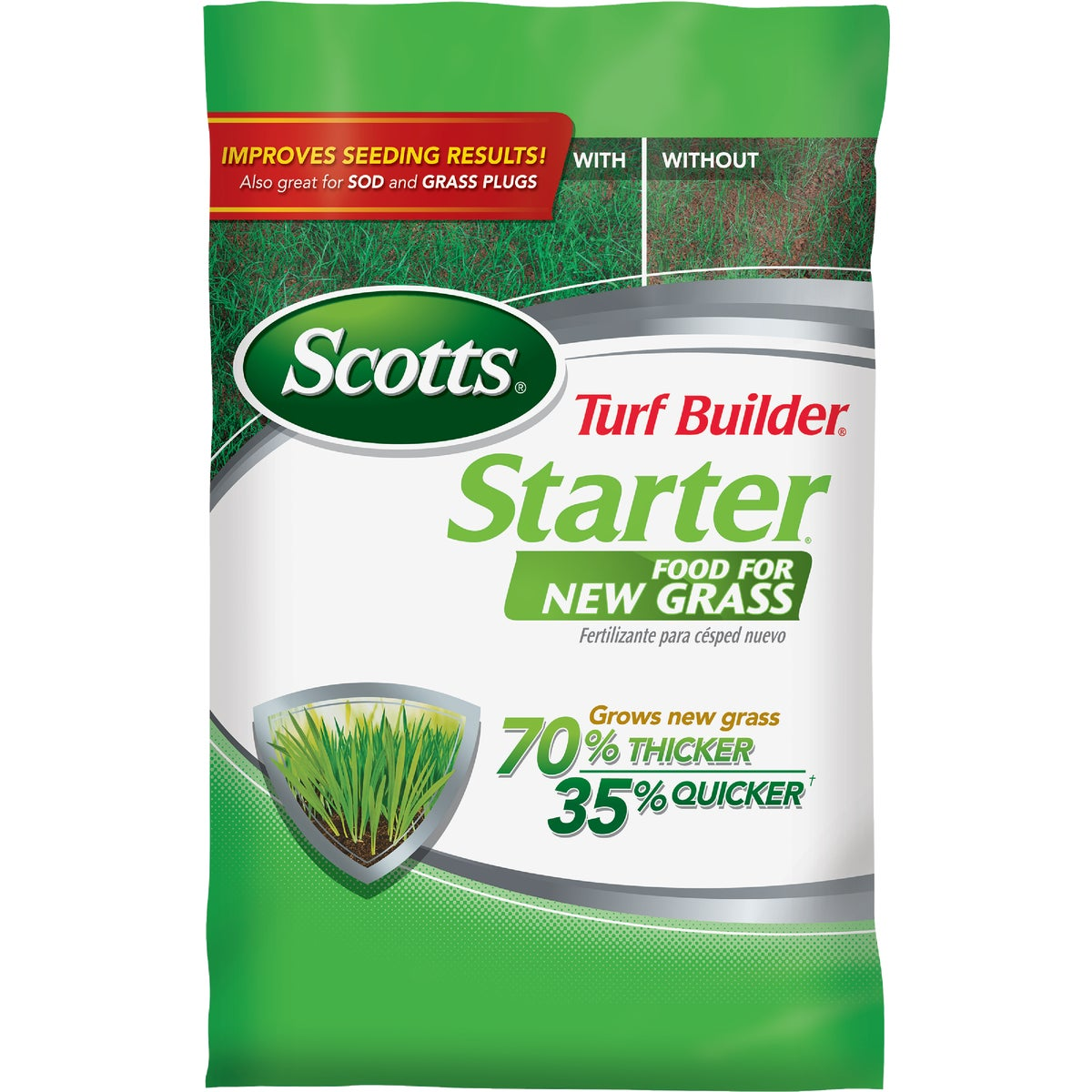 The Scotts Co. 1M STARTER FERTILIZER 20701