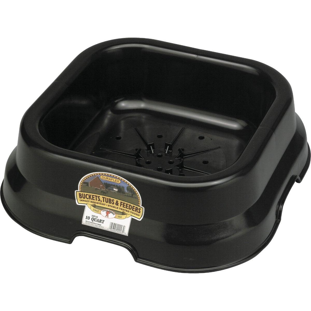 Miller Mfg. 10QT FEED PAN FP10BLACK