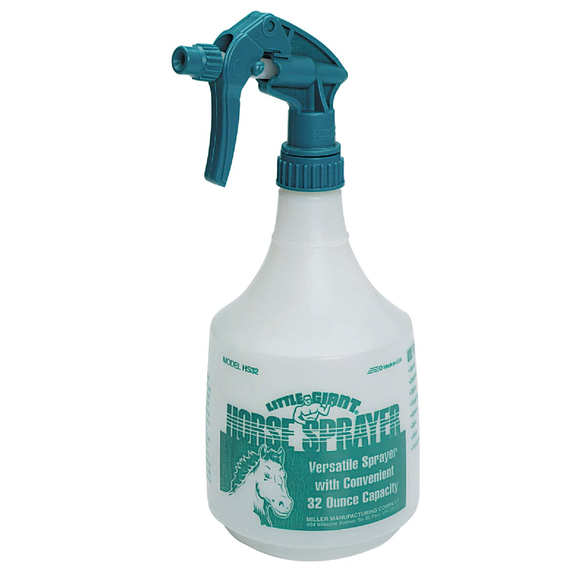 TEAL HORSE SPRAYER