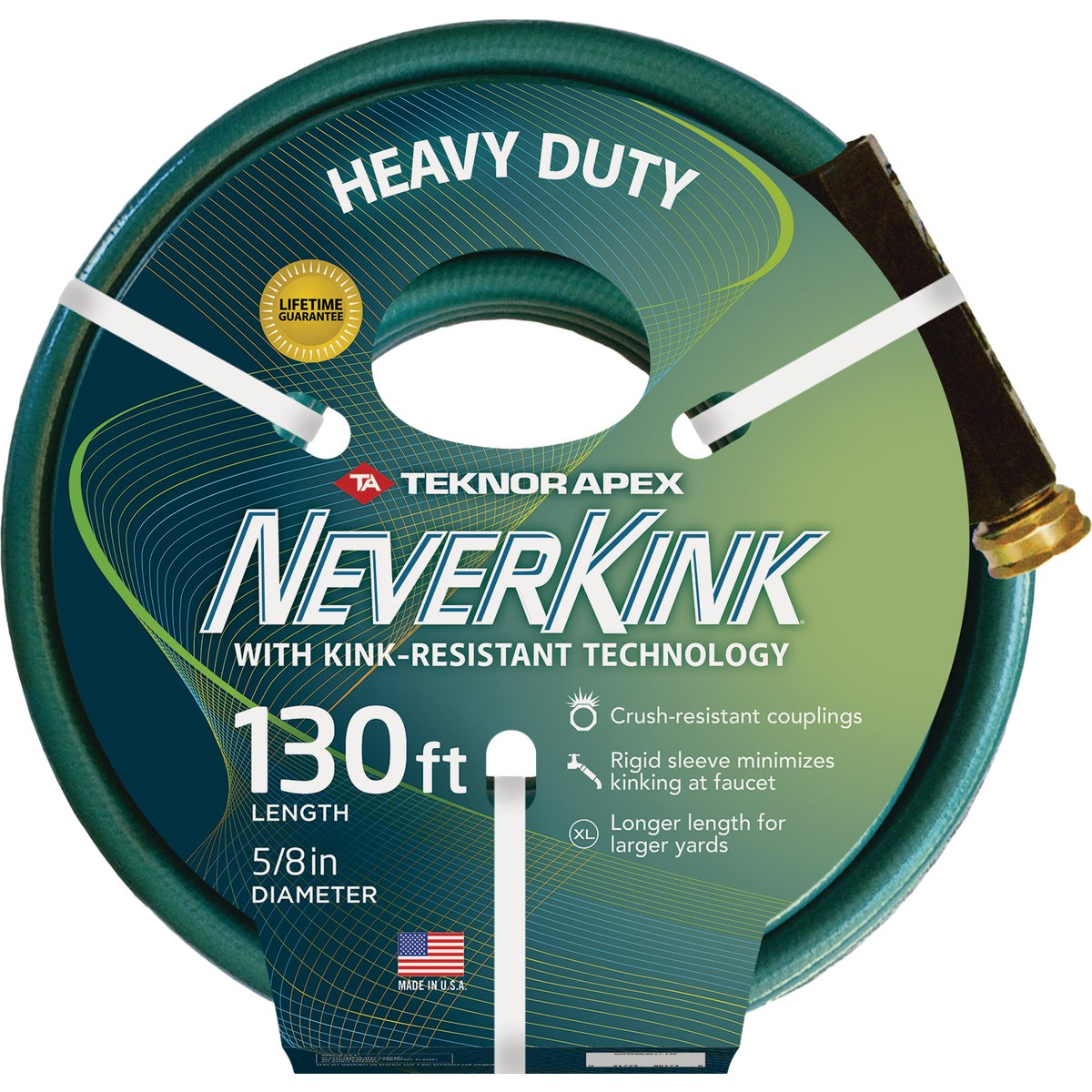 "5/8""X130' NEVERKINK HOSE - 8605-130 by Teknor Apex Co"
