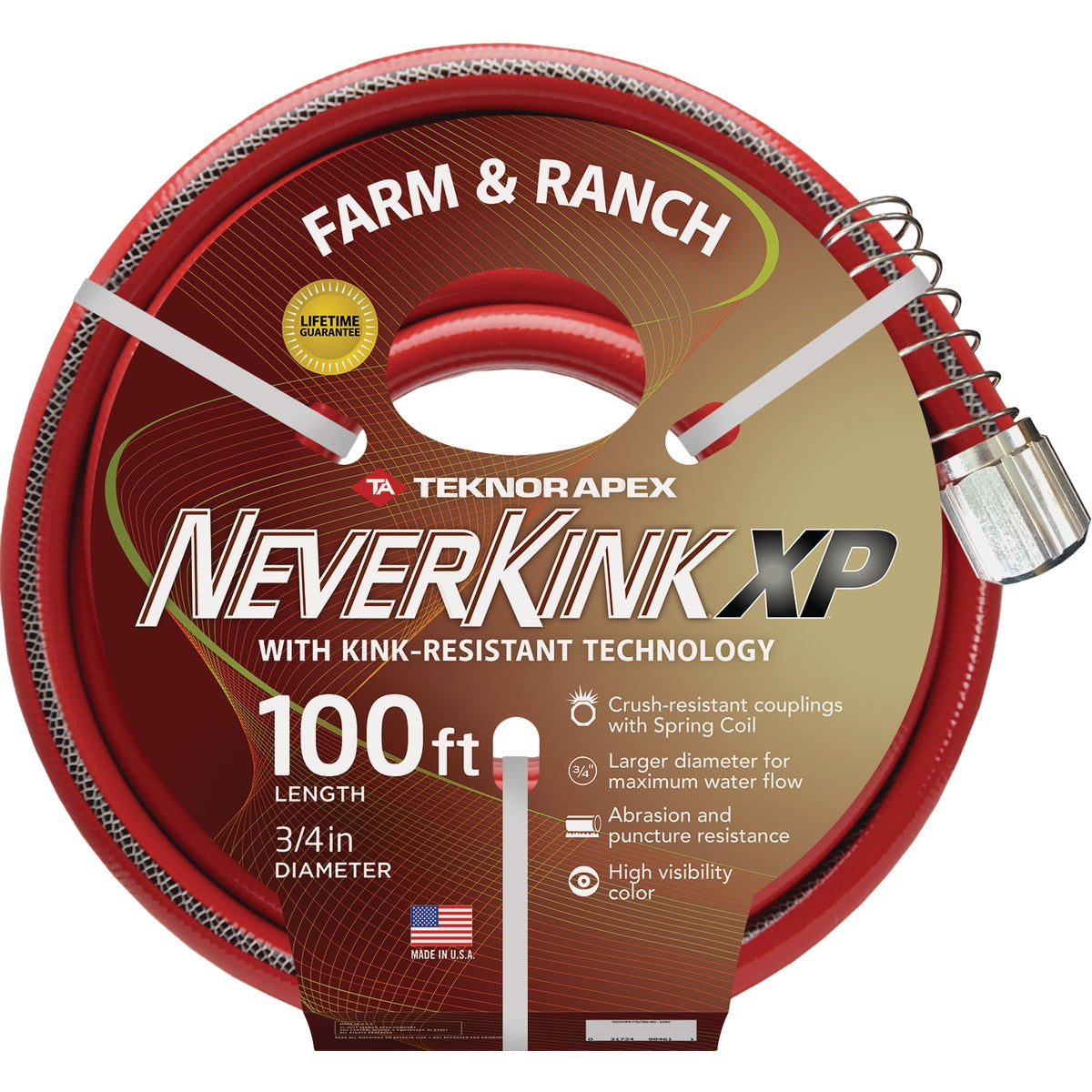 "3/4""X100' NEVERKINK HOSE - 9884-100 by Teknor Apex Co"