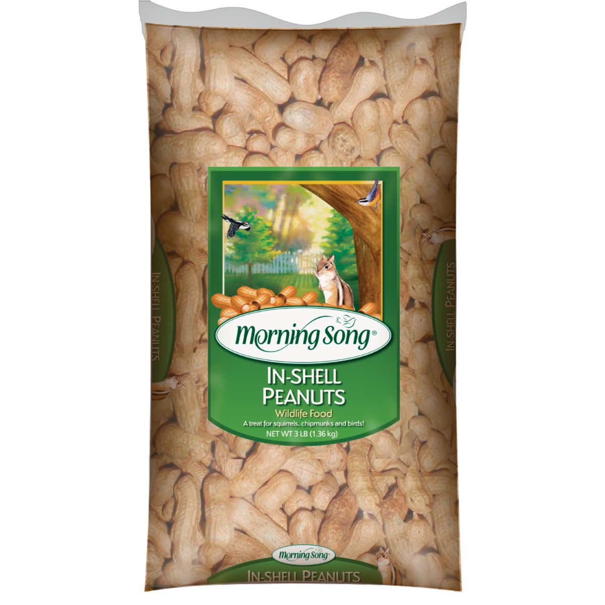 3LB PEANUTS IN SHELL
