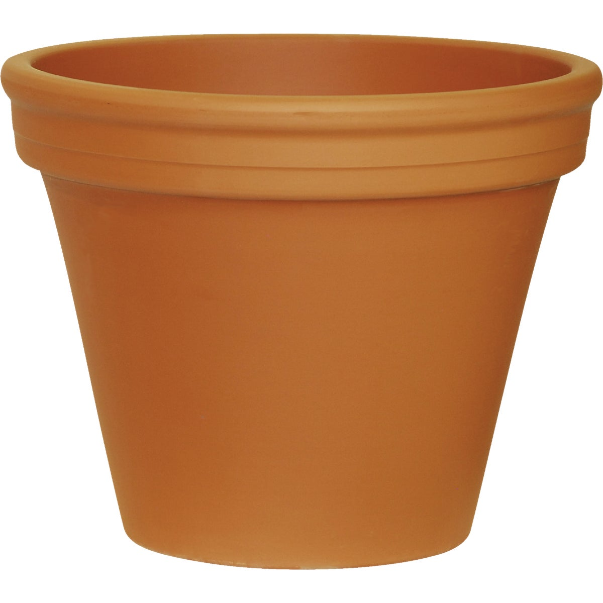 "12"" TERRA COTTA CLAY POT - 01310FZ by Deroma"