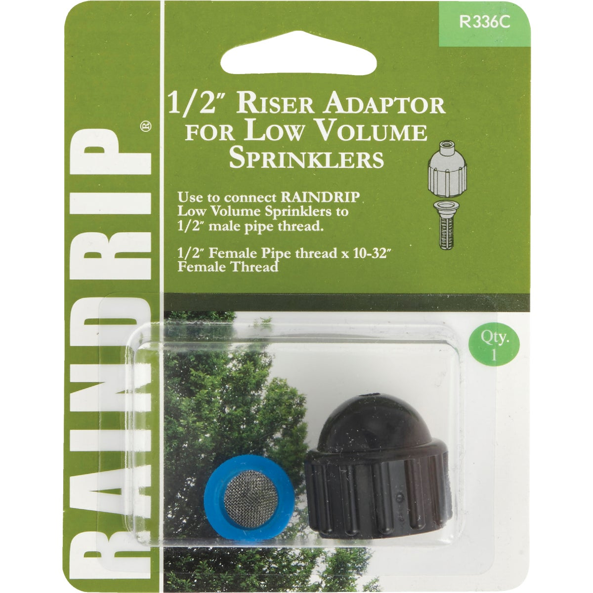 1/2RSR SPRINKLER ADAPTOR - R336CT by Raindrip Inc